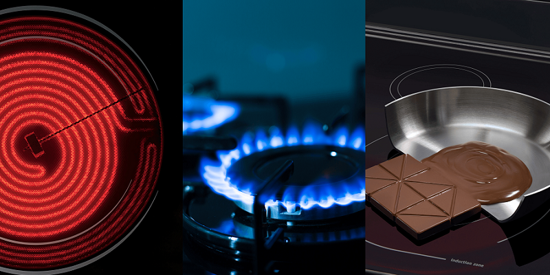 Choosing Between a Gas, Induction, or Electric Cooktop